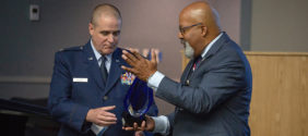 NAD Honors Historic Promotion of an Adventist Chaplain Serving in the U.S. Air Force